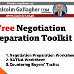 free negotiation preparation toolkit