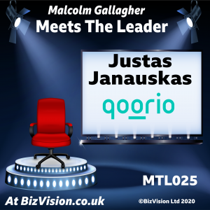 MTL025: Justas Januaskas of new social media app, Qoorio, on the MTL Show
