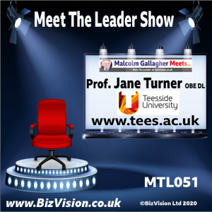 MTL051: Tees Valley now dynamic for learning & business says Prof. Jane Turner