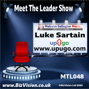 Luke Sartain of UpUGo on the Meet The Leader Show