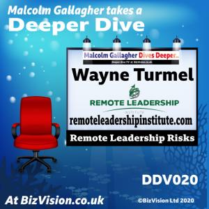 DDV020: Remote Leadership expert on risks and dangers