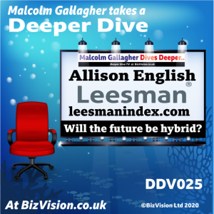 DDV025: A hybrid model the future of working says workplace expert from Leesman