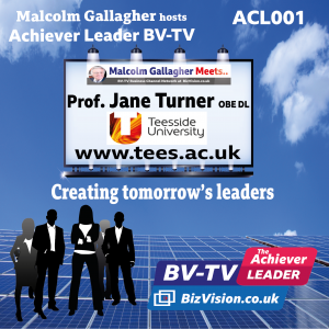ACL001: What the leaders of tomorrow now need to learn with Prof Jane Turner of Teesside University