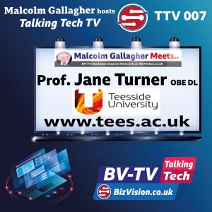 TTV007: Prof. Jane Turner of Teesside University talks digital learning leadership