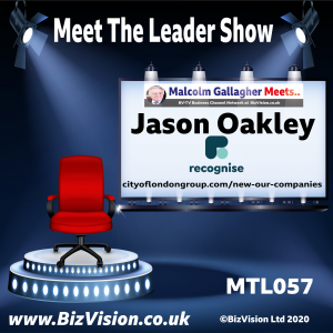 MTL057: Jason Oakley, CEO of Recognise talks banking on the MTL Show