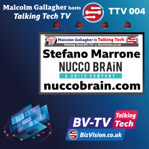 TTV004: Marketing's future is digital story-telling says Stefano Marrone on Talking Tech TV