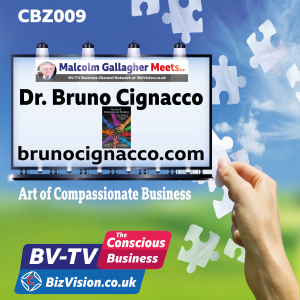 CBZ009: The Compassionate Business is the business of the future says author DR Bruno Cignacco