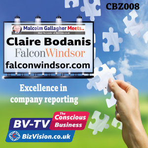 CBZ008: Transparent company reporting & consciousness go hand-in hand says author Claire Bodanis