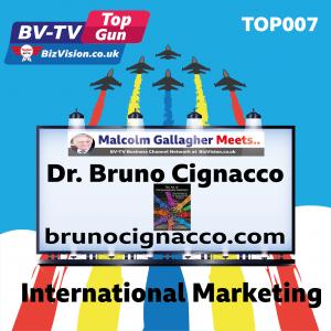 TOP007: International marketing skills now key says author Dr Bruno Cignacco