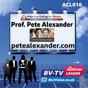 ACL016: Stress relief expert Prof. Peter Alexander talks well-bring on BV-TV Leadership Matters Show