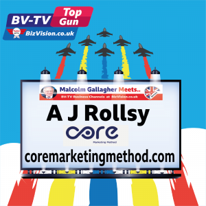 TG020: Creator of CORE Marketing Method , A J Rollsy, talks Conscious Marketing on BV-TV Show