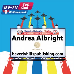 TG024: Your book published in 90 days and be a top seller? Andrea Albright says yes on BV-TV Top Gun
