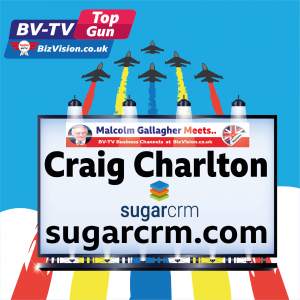 TG019: Marketers need next generation of CRM with AI says Craig Charlton, CEO of SugarCRM
