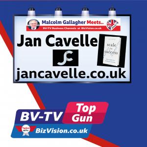 Jan Cavelle on BizVision BV-TV Show