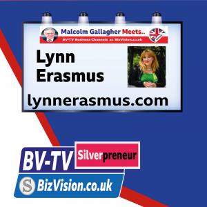 SP002: Author Lynn Erasmus talks thinking, starting & growing  a business on BV-TV Silverpreneur Show