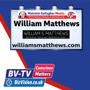 CM015: Renaissance Man, Will Matthews, talks Conscious Agenda on BV-TV Show