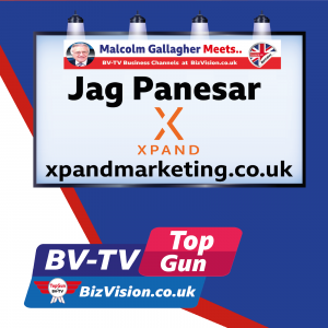 jag Panesar on BV-TV Top Gun Marketing Show