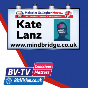 Are you losing 30% of productivity potential asks Kate Lanz on BV-TV Conscious Matters Show