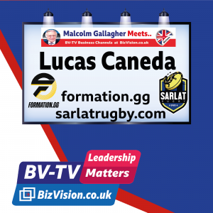 Lucas Caneda of Sarlat Rugby on BizVision BV-TV Leadership show