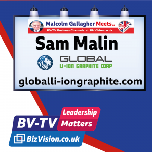 Graphite key to the world's electric vision says Sam Malin on BV-TV Leadership Show