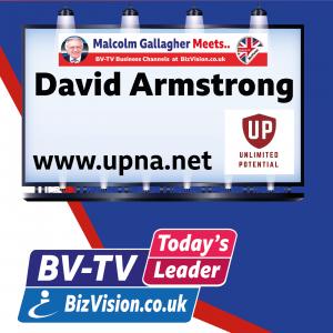 Motivational coach David Armstrong on BizVision BV-TV Leader Show