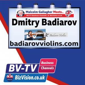 Making music can make money says violin-maker Dmitry Badiarov on BV-TV BizWyze Show
