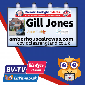 """Extra commitment to guest safety & comfort is vital for """"new success says B&B owner Gill Jones on BV-TV Show"""