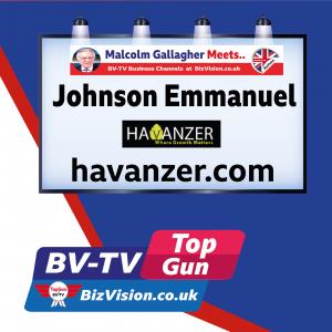 Johnson Emmanuel of Havanzer on BizVision BV-TV Top Gun Marketing Show