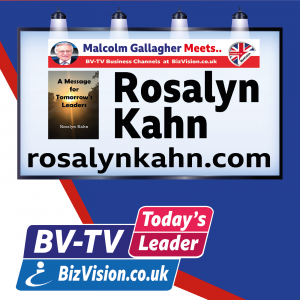Rosalyn Kahn on BizVision BV-TV Today's Leader Show