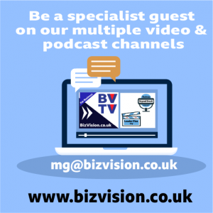 Be a podcast guest at BizVision.co.uk
