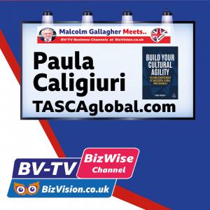 Paula Caligiuri on BizVision BV-TV Network