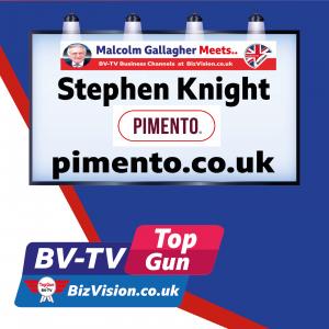 Stephen Knight of Pimento on @BizVision BV-TV Top Gun Show
