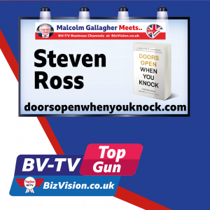 I've knocked on 125,000+ doors to build a business says Steven Ross on BV-TV Show