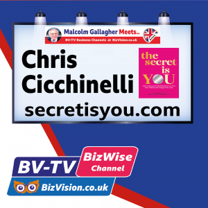Author & CEO of $350 million company, Chris Cicchinelli talks YOU on BV-TV Show