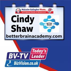 Cindy Shaw of The Betetr Brain Academy on BizVision BV-TV Show