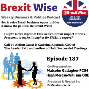 BrexitWise guest this episode is Caterina Kostoula on holding successful meetings