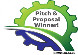 Pitch and proposal winner at BizVision.co.uk
