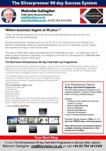 Silverprneur 90 day fast start programme
