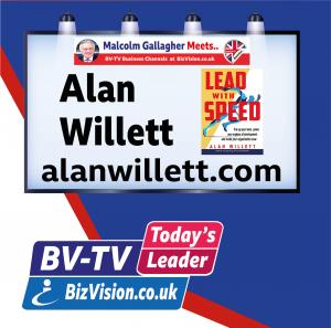Alan Willett on BV=TV Todays Leader Show at bizvision.co.uk