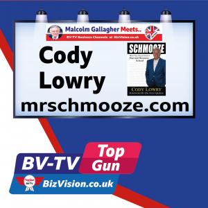 BV-Tv Top Gun show welcomes star guest Cody Lowry- Mr Schmooze himself!
