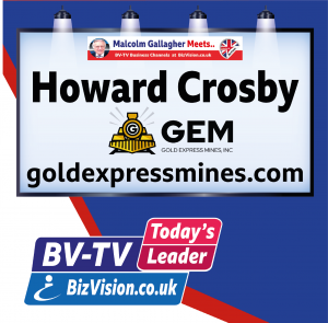 Howard Crosby on BizVision BV-TV Todays Leader Channel