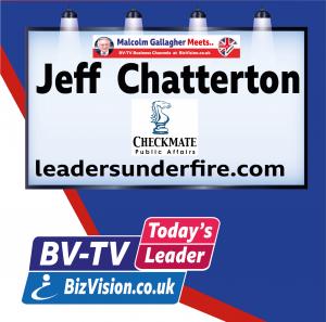 Jeff Chatterton on BV-TV Todays Leader Channel at BizVision.co.uk