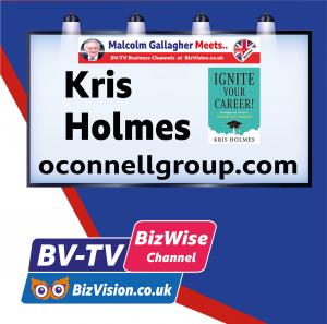 Kris Holmes on BV-TV BizWise Channel at Bizvision.co.uk