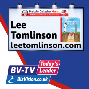 Lee Tomlinson's on a mission to teach that Compassion Heals – a lesson for Today's Leaders
