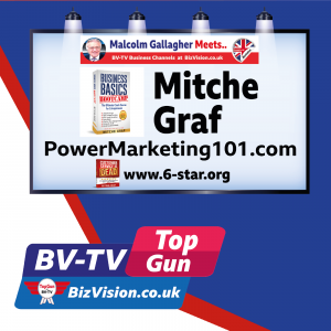 Your time is key says entrepreneur, US radio host & Business Basics Bootcampauthor Mitche Graf