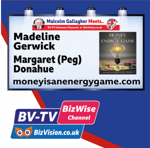 Money is an energy game authors on BV-TV BizWise at bizvision.co.uk