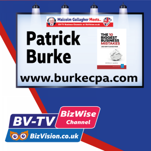 Avoid these 10 deadly business mistakes say author Patrick Burke on BV-TV