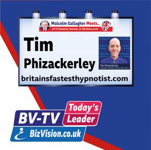 Tim Phizackerley on BiozVision BV-TV Todays Leader Channel