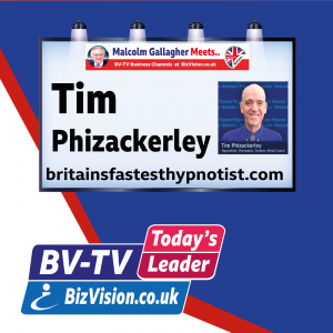 Tim Phizackerley says hypnotism can be best support for stress & mental health problems