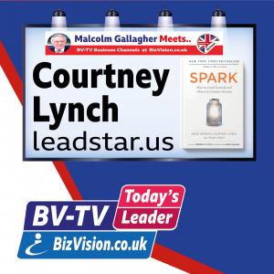 Are you a SPARK asks author & leadership coach Courtney Lynch on BV-TV